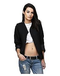 Yepme Ertina Casual Blazer - Black -- YPMBLZR5003_XS
