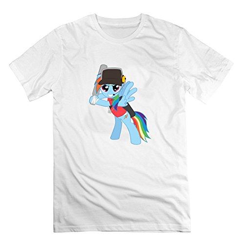 Medic und weiblich Scout kristylogan Herren grau anpassbare T Shirt, Herren, weiß (Weibliche Cookie Monster)