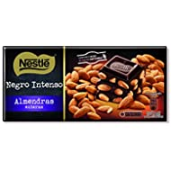 Nestlé - Tableta De Chocolate Negro Con Almendras 200 g
