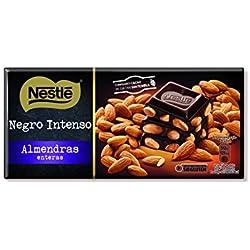 Nestlé Chocolate - Negro con Almendras (200 g) + Con Leche con Frutos Secos (200 g) + Relleno Dulce de Leche (240 g) + Relleno Crocanti (240 g)