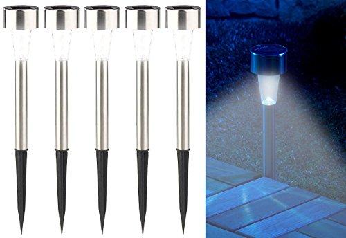 Pearl set di mini luci led da giardino a energia solare con