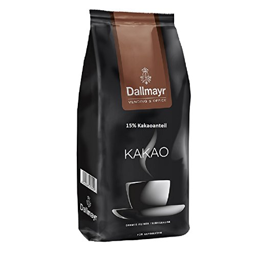 Dallmayr Kakao für Automaten 10 x 1kg Karton kakaohaltiges Getränkepulver, Instantschokolade