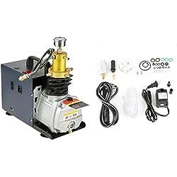 Pompe à air haute pression compresseur automatique réglable 1800 W 2800 RPM 220 V 40 Mpa 4500psi pression refroidie à eau pour fusil à air comprimé fusil à air comprimé voiture moto