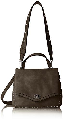 Tamaris Damen Pamela Satchel Bag S Umhängetasche, Schwarz (Black), 11x20x24,5 cm