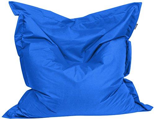 BuBiBag 1-blau-200x140cm Sitzsack, Stoff, blau, 200 x 140 x 20 cm