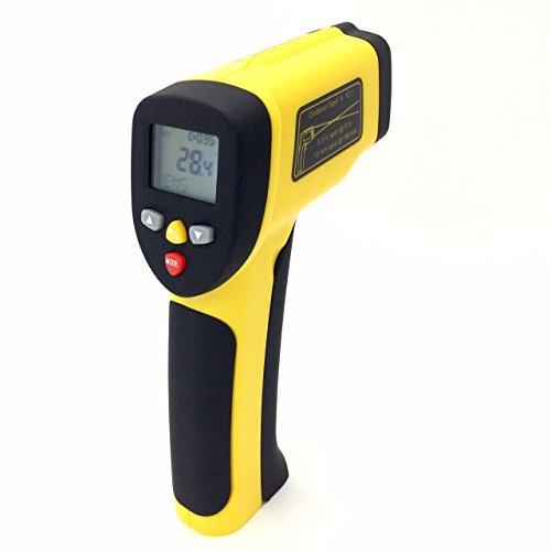 Perfect-Prime TM0819 Temperatura Digitale Infrarossi IR non a contatto Termometro con Puntatore Laser -50~1050°C/1922°F