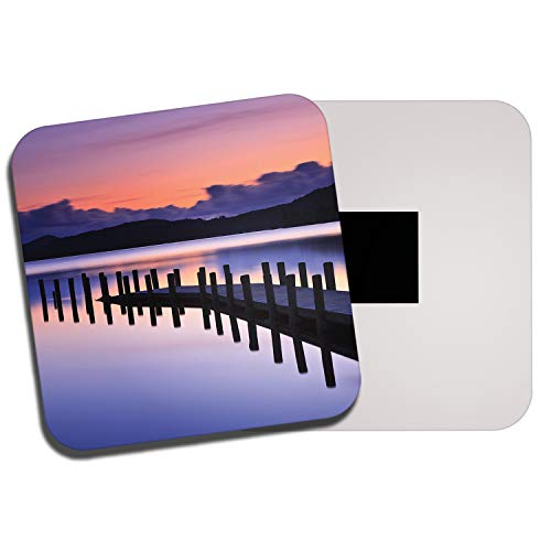 Ziel Vinyl Ltd Coniston Water Sonnenuntergang Kühlschrankmagnet - Lake District England UK 14247 -