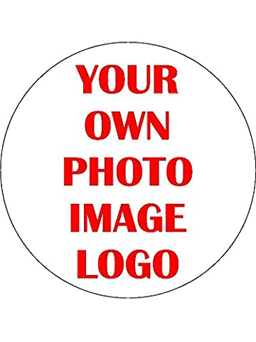 30 x Your Own Image Photo Logo Personalised 1.5