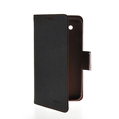 [GOBB] Schwarz Braun Stilvoll Magnetisch Schlie?ung Flip Abdeckung Brieftasche Blatt H¨¹lse f¨¹r LG Optimus G Pro / E985 / E980 / F240 (Case Optimus G Gummi Lg Pro)