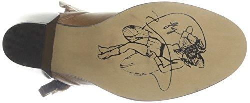 Beige Damen Thus Stiefel camel London Fly camel beige OP6In