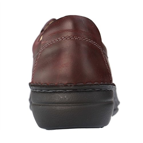 Finn Comfort 2056-515391, Scarpe stringate donna rosso Rot Bordeaux