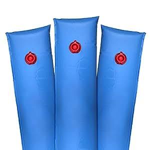 Robelle Deluxe 16g. Einkammer Vierfußgehstütze blau Winter Wasser Tube für Schwimmbad Abdeckungen