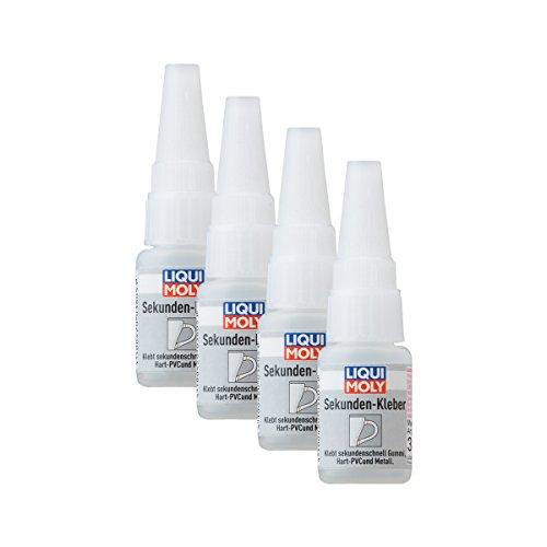 Liqui Moly 4X 3805 Sekunden-Kleber Super Glue Instant 10g