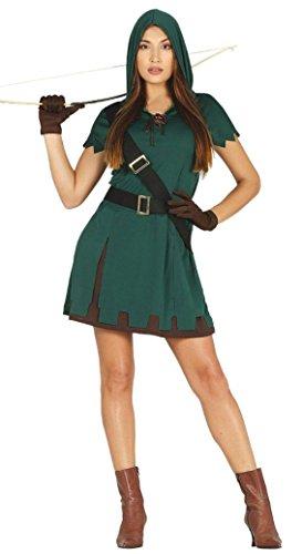 KOSTÜM - BOGENSCHÜTZIN - Größe 42-44 (L) (Robin Hood Girl Kostüme)