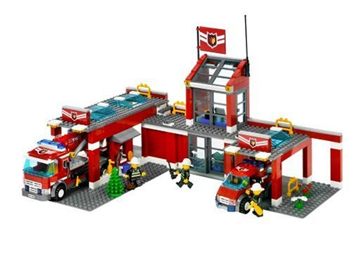 feuerwehrwache lego LEGO City 7945 - Feuerwehr-Hauptquartier