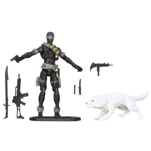 G.I. Joe Retaliation Actionfigur SNAKE EYES mit Timber Wolf (Gi Joe Snake Eyes)