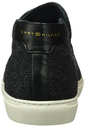 Tommy Hilfiger M2285ount 9d, Baskets Basses Homme Gris - Grau (MAGNET 916)