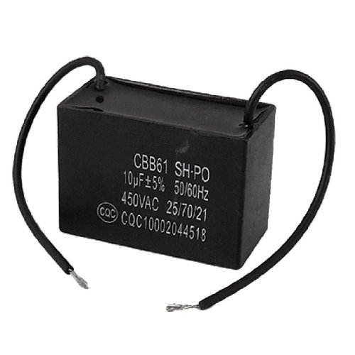 condensatore CBB61 - TOOGOO(R) 10 uf 10MFD 450VAC 50/60Hz 2 di ventilatore linea condensatori ccbb61