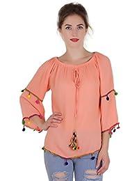8d7613e4396cc2 Oranges Women s Tops  Buy Oranges Women s Tops online at best prices ...