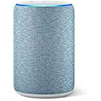 Der neue Amazon Echo (3. Generation), smarter Lautsprecher mit Alexa, Dunkelblau Stoff