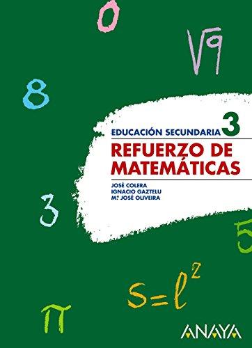 Refuerzo de Matemáticas 3. - 9788466773997
