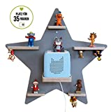 BOARTI Stern, grau - das Regal für die Musikbox1005