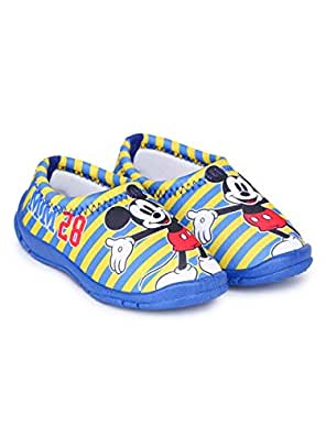 Mickey Mouse Boy's Yellow Sneakers-7 UK (24 EU) (MCPBLS2267)