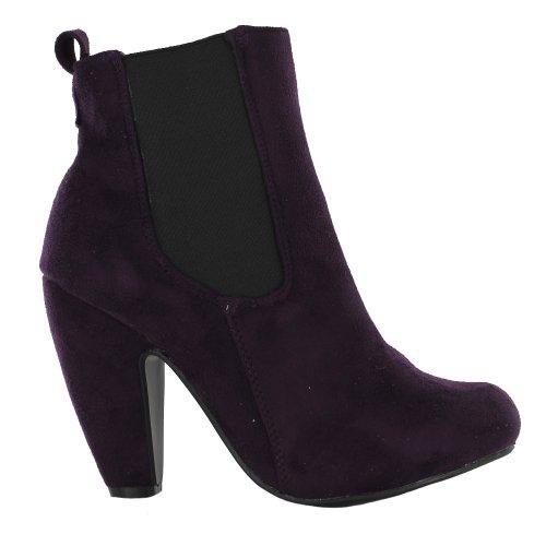 Footwear Sensation ,  Damen Chelsea Boots Violett