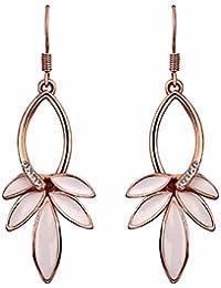 Mes-Bijoux-Bracelets Boucles d oreilles pendante Doré or rose 750 000 5ebd39e5dfa6