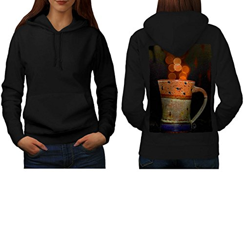 stylish-cup-of-tea-color-bubbles-women-new-black-m-hoodie-back-wellcoda
