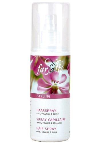 Tenue, volume U brillant cheveux Spray de coiffage 150 ml farfalla
