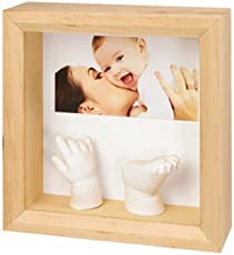 Woww Baby 3D Baby Casting Kit with Photo Frame, White