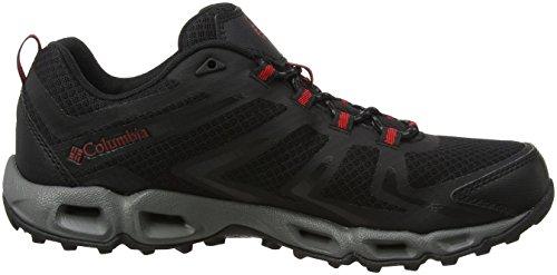 Columbia Herren Ventralia 3 Low Trekking-& Wanderhalbschuhe Schwarz (Black, Mountain Red)