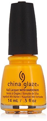 Gelber Nagellack mit Härtemittel, 14 ml, von China Glaze -