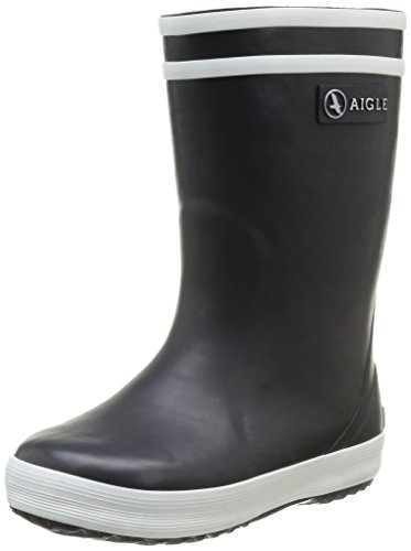 Aigle Unisex-Kinder Lolly Pop Fur  Gummistiefel Blau (marine 0) 34