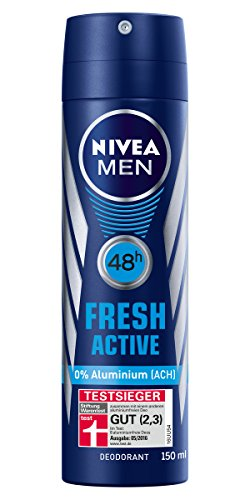 Nivea Men Fresh Active Deo-Schutz, 6er Pack (6 x 150 ml)