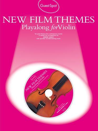 New Film Themes für Violine solo (+CD) mit Bleistift -- 10 beliebte Filmmelodien u.a. aus DIE FABELHAFTE WELT DER AMELIE und MOULIN ROUGE in leichten bis mittelschweren Arrangements (Noten/sheet music)
