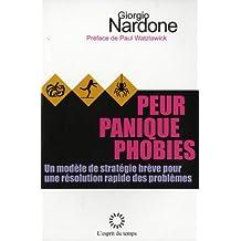 Peur Panique phobie traitement