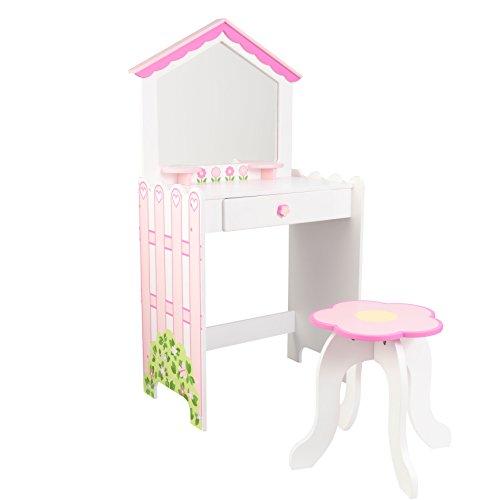 Vanity Puppenhaus Dressing Table mit Stuhl - Kidkraft (13035)