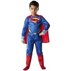 Superman - Disfraz Man of Steel, para niños, talla L (Rubies 886504-L)