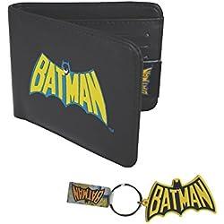 Unisex-Adultos - Official - Batman - Billetera