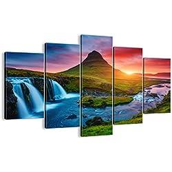 Bild auf Leinwand - Leinwandbilder - fünf Teile - Breite: 150cm, Höhe: 100cm - Bildnummer 2963 - fünfteilig - mehrteilig - zum Aufhängen bereit - Bilder - Kunstdruck - EA150x100-2963