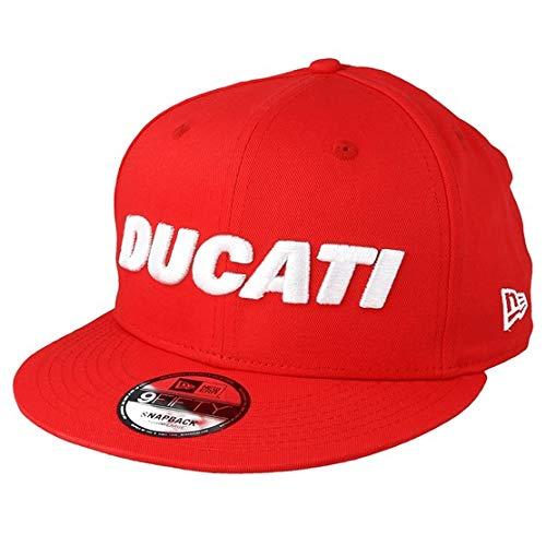 A NEW ERA Gorra 9Fifty Ducati Fa18 Wordmark Rojo M/L
