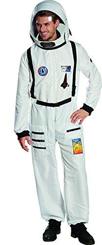Astronaut Herren Kostüm Raumfahrer Karneval Kosmonaut (Kosmonauten Helm Kostüm)