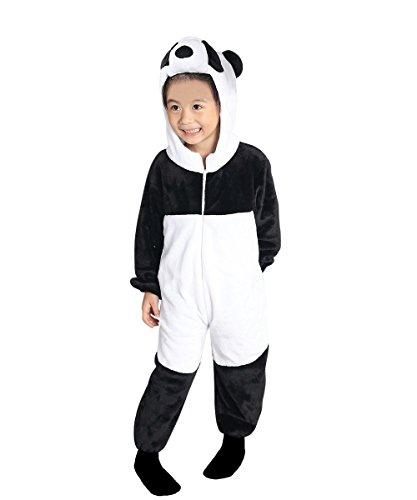 Fasching Kostüm Panda Kinder - Panda-Kostüm, F97/00 Gr. 98-104, für Kinder,