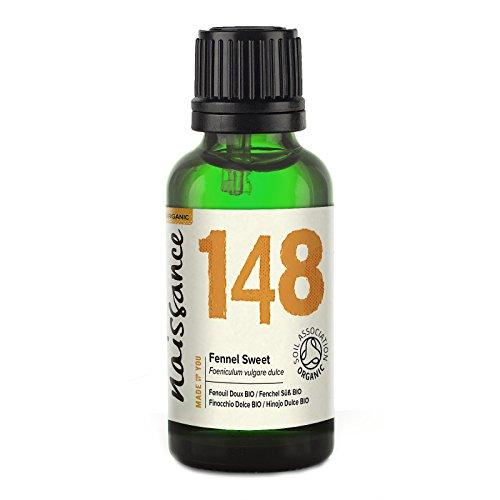 Fenchel Bio Ätherisches Öl (Naissance Fenchel, Süß (Foeniculum vulgare dulce) 30ml BIO zertifiziert 100% naturreines ätherisches Öl)