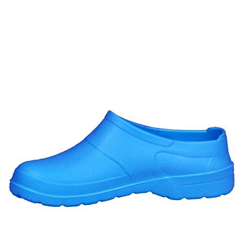 Lukpol Femmes Sabots Chaussures de Jardinage Resistantes A Leau Bleu