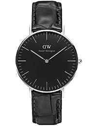 Daniel Wellington Classic Damen-Armbanduhr Analog Quarz Leder - DW00100147