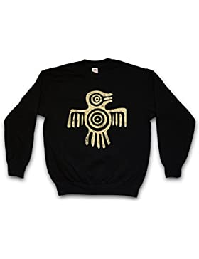 AZTEC BIRD II PULLOVER SWEATER S