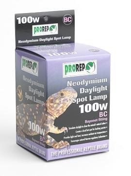 ProRep BC Neodymium Daylight Spot Lamp, 100 Watt 1